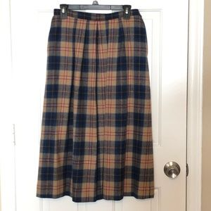 Pendleton Size 12 Authentic Cailean Tartan Lined
